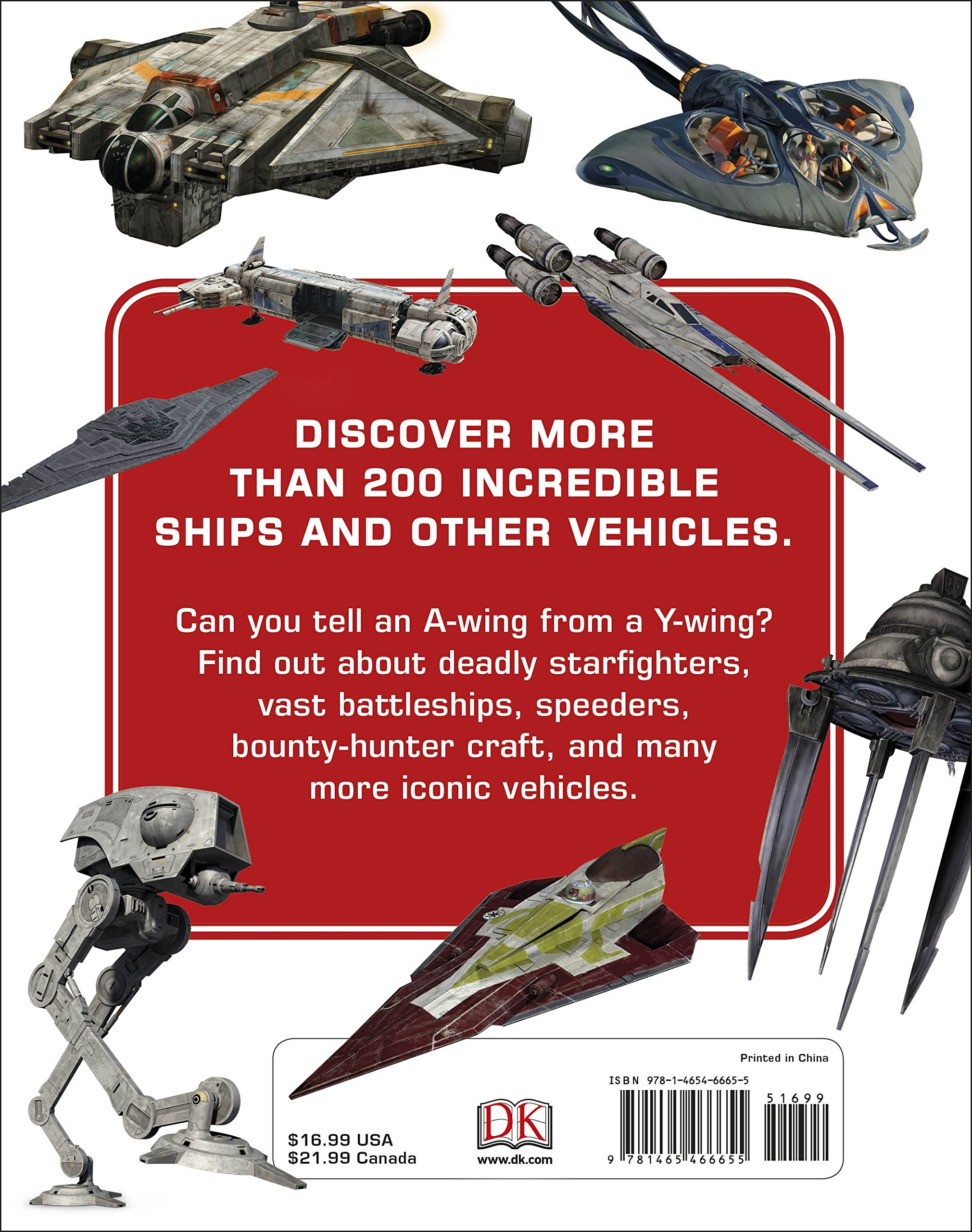 Star Wars  Encyclopedia of Starfighters and Other Vehicles by DK Publishing (Image #1)