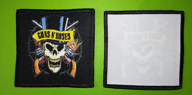 A Coudre 10 10 CM Guns N Roses 1 BLUE HAWAI PL0074 ECUSSON Patches AUFNAHER Toppa