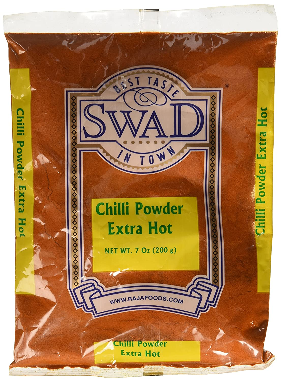 Swad Extra Hot Chilli Powder - 200 Grams