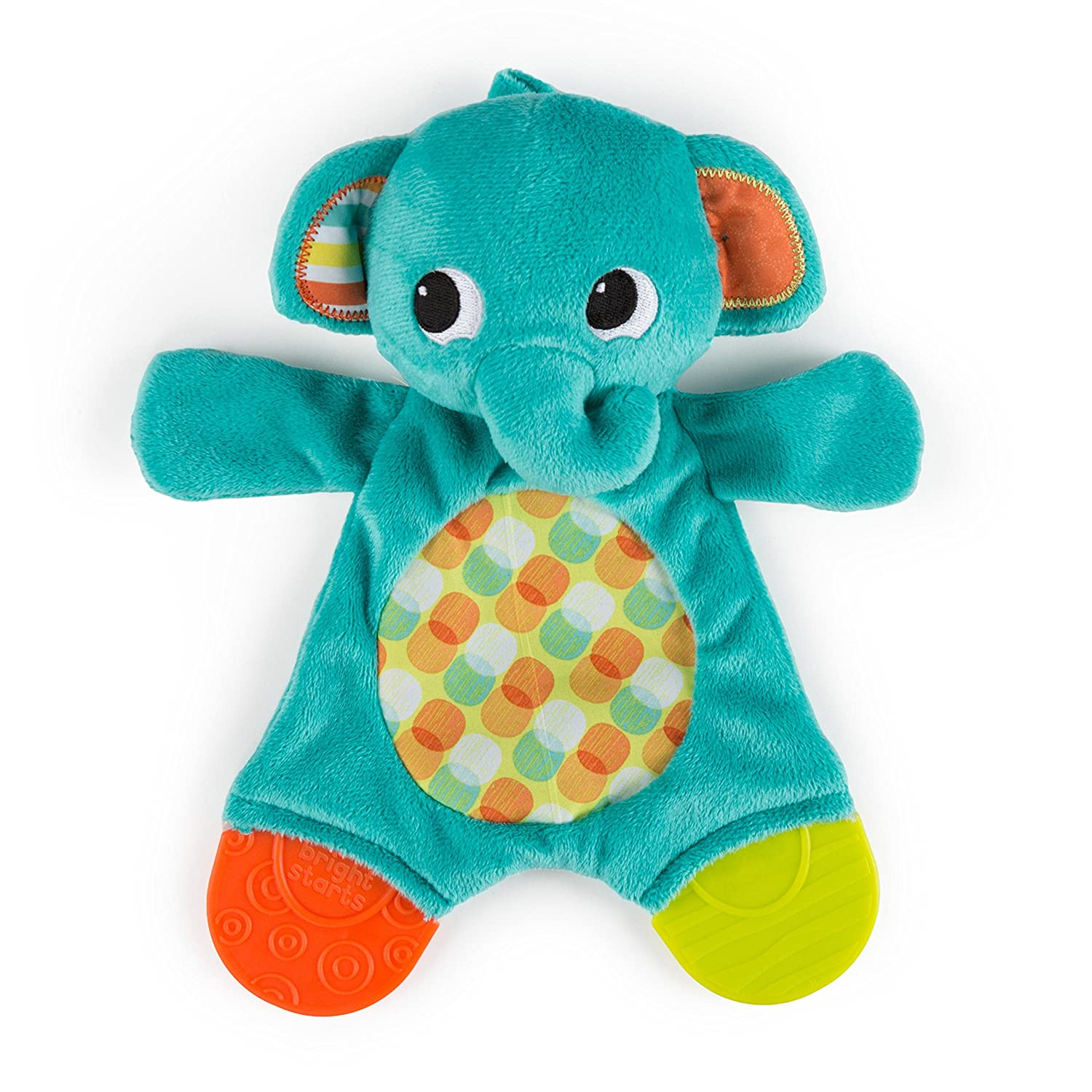 Amazon Bright Starts Snuggle Teether Assorted Baby Teether
