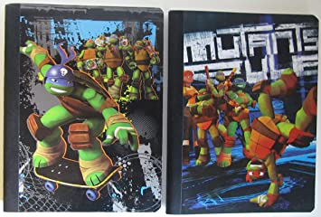 Amazon Com Teenage Mutant Ninja Turtles 1 Wide Ruled Composition Book Tmnt Cover Colors And Graphics Vary Office Products