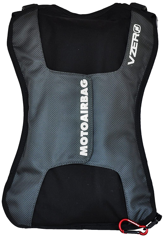 Taille unique Motoairbag /à dos vzero Metal Grey
