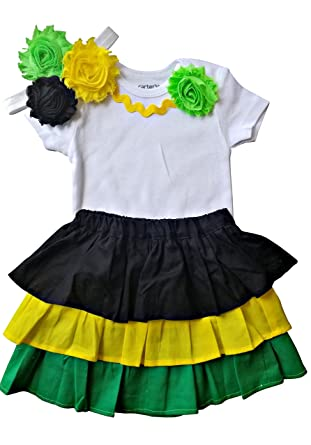 Amazon.com  Perfect Pairz Jamaica Dress Clothes for Baby Clothing for The  Caribbean  Clothing 13c855510576