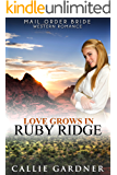 Mail Order Bride: Love Grows in Ruby Ridge: Sweet, Clean, Inspirational Western Historical Romance (Gemstone Brides of the West Book 2)