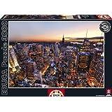 Educa 14824 - Manhattan Sunset, New York HDR - 3000 pieces - Genuine Puzzle