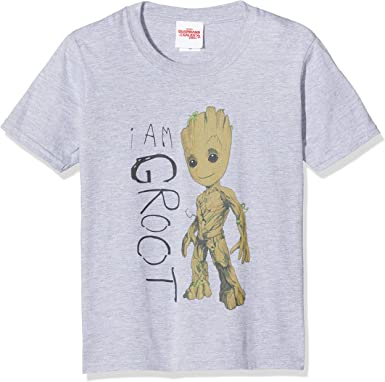 Marvel Femme Guardians of The Galaxy I Am Groot Scribbles Sweat-Shirt
