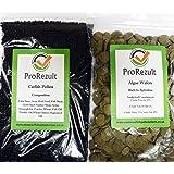 Prorezult 6% Spirulina Algae Wafers 200g PLUS Pleco Cichlid Catfish Pellets 200g. Pack of each Food. FANTASTIC VALUE. Algae Eater and Bottom Feeding Fish