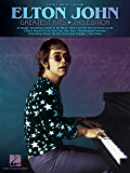 Elton John - Greatest Hits,  Songbook (Piano/Vocal/guitar Artist Songbook)