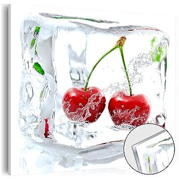 murando – Acrylglasbild Obst 40x40 cm - Glasbilder - Wandbilder ...