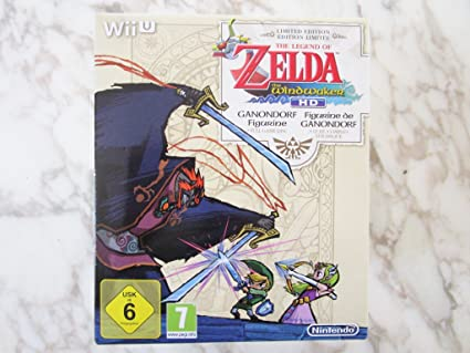 The Legend Of Zelda The Wind Waker Hd Limited Edition Nintendo