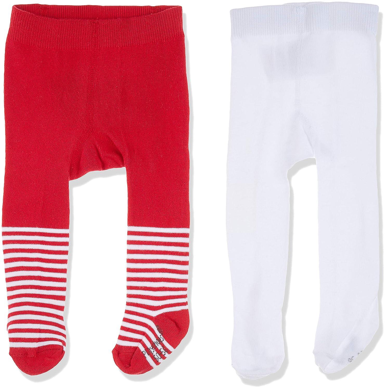 per of 2 Playshoes Baby-M/ädchen Wal und Unifarben mit Komfortbund Strumpfhose