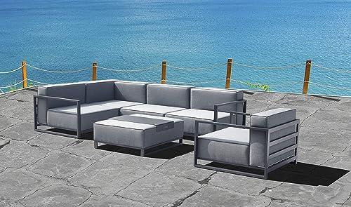 Whiteline Modern Outdoor Living Sensation Indoor/Outdoor Modular