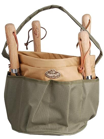 Incroyable Esschert Design Canvas Round Tool Bag