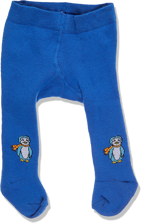 Pack of 2 Playshoes Baby Elastische Thermo-strumpfhosen Pinguin Mit Komfortbund Tights,