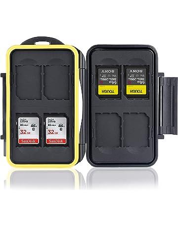 Titular de la tarjeta de memoria negro para SD CF Mini y Micro SD y MS Pro-por TRIXES