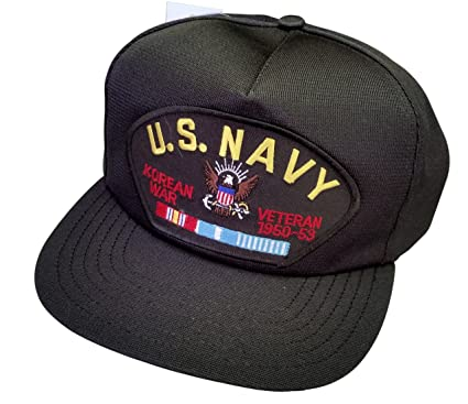 Image Unavailable. Image not available for. Color  US Navy Korea Veteran  Ball Cap d048c4dbc79