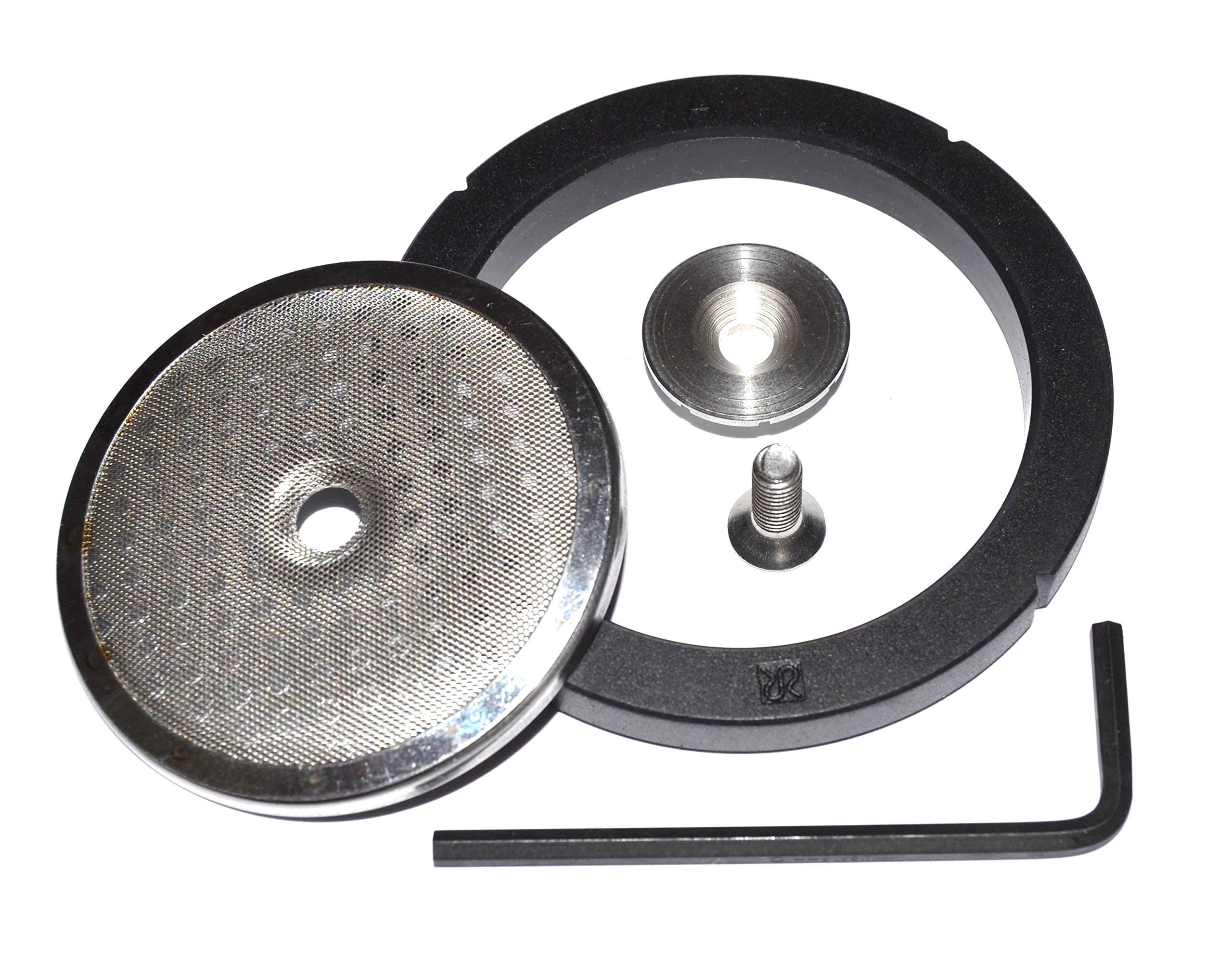 Flat Shower Screen Upgrade Kit for the Rancilio Silvia