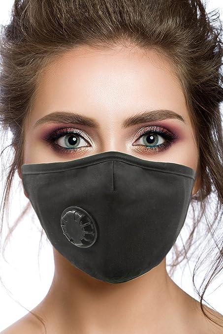 Amazon.com: Máscara facial de algodón de contaminación ...