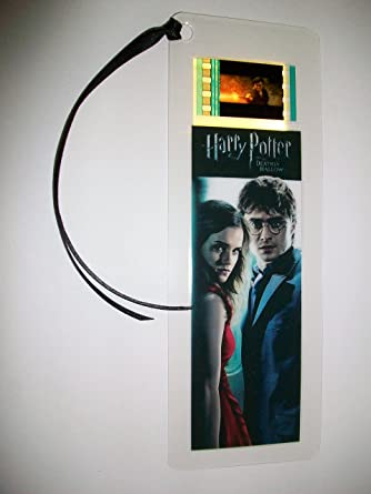 Harry Potter Deathly Hallows I Movie Film Cell Bookmark Memorabilia