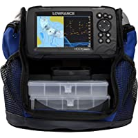$299 » Lowrance Hook Reveal 5 5-inch SplitShot Ice Pack with Chirp, DownScan & Base Map