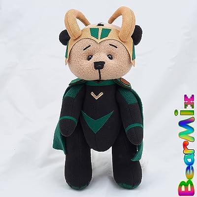 Loki bear - Avengers Thor Ragnarok Marvel Antihero movie comic plush