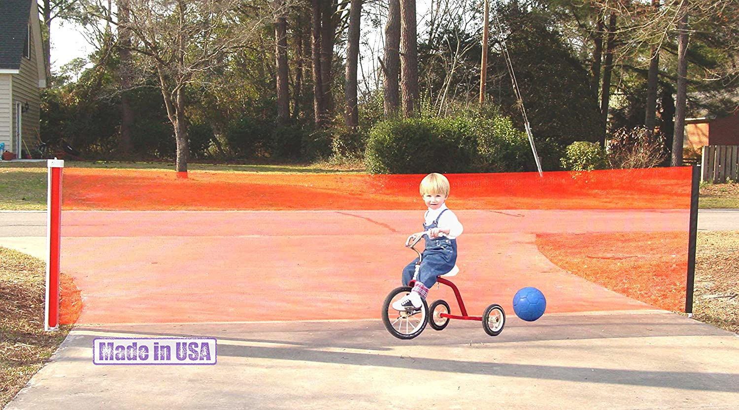 Bon Amazon.com : Kidkusion Retractable Driveway Guard, Orange : Childrens  Outdoor Safety Products : Baby