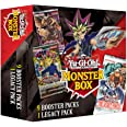 Yu-Gi-Oh! Trading Cards Spring Monster Mystery Box- 9 Booster Packs | at Least 1 Legacy Pack | Find Legend of Blue-Eyes White