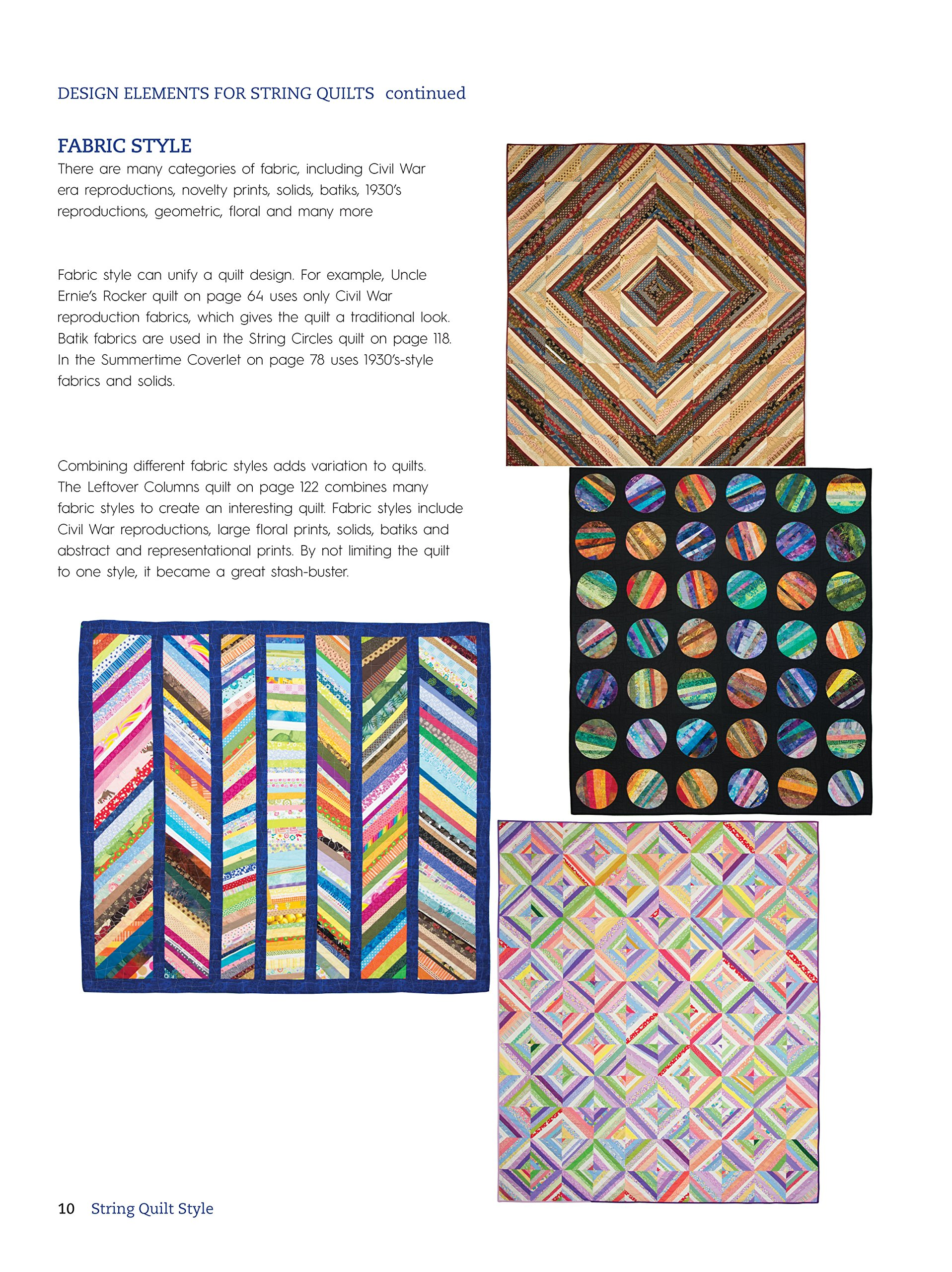 String Quilt Style: Easy Techniques and Inspiring Designs