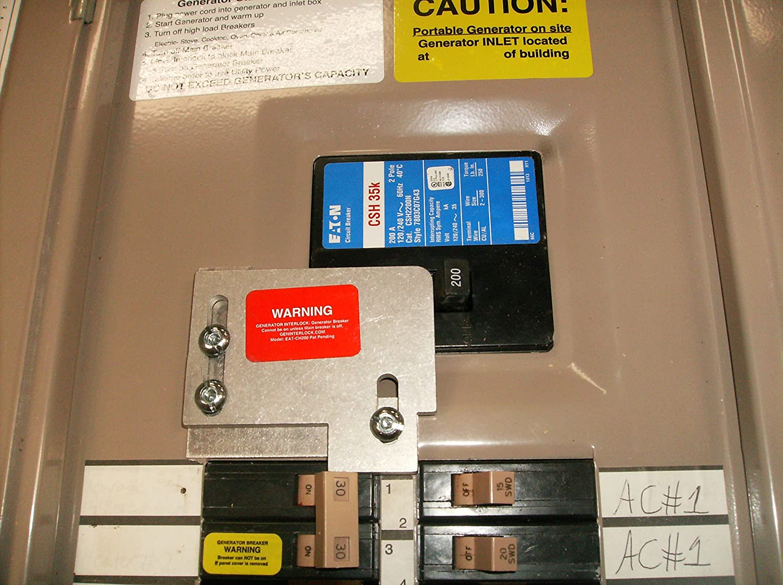 EAT-CH200A Cutler Hammer Generator Interlock Kit CH SERIES ONLY 150 ...