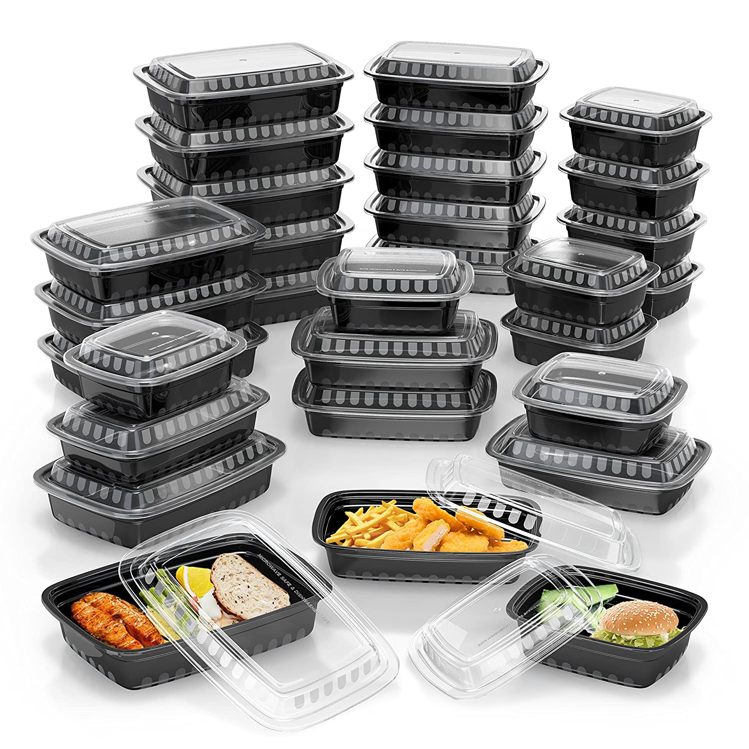 Meal Prep 21-Pack Containers O...