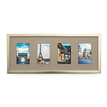 Amazon.com - Collage Picture Frame Set 4x6 - Holds four 4x6 Inch ...