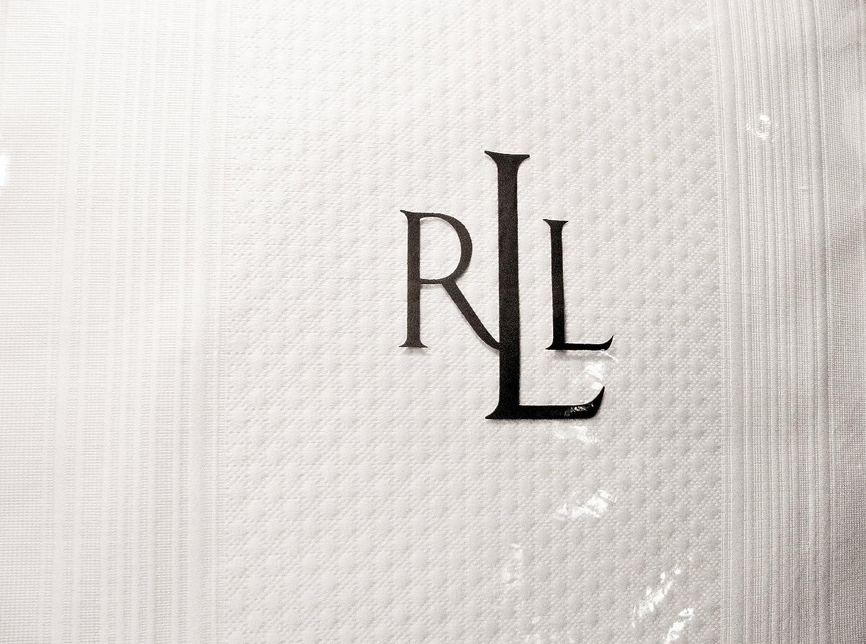 Lauren Ralph Lauren Suite Stripe Matelesse Nightspread-queen Cream B006H3OKDW