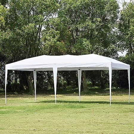 10/' x 10/'  Pop UP BBQ Beach Party Wedding Tent Heavy Duty Gazebo Canopy Outdoor