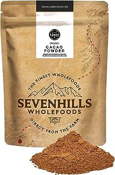 Oferta amazon: Sevenhills Wholefoods Cacao En Polvo Orgánico 1kg