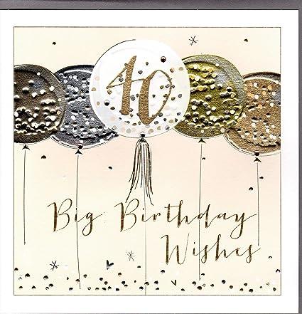 Belly Button Designs - Tarjeta de felicitación de 40 ...