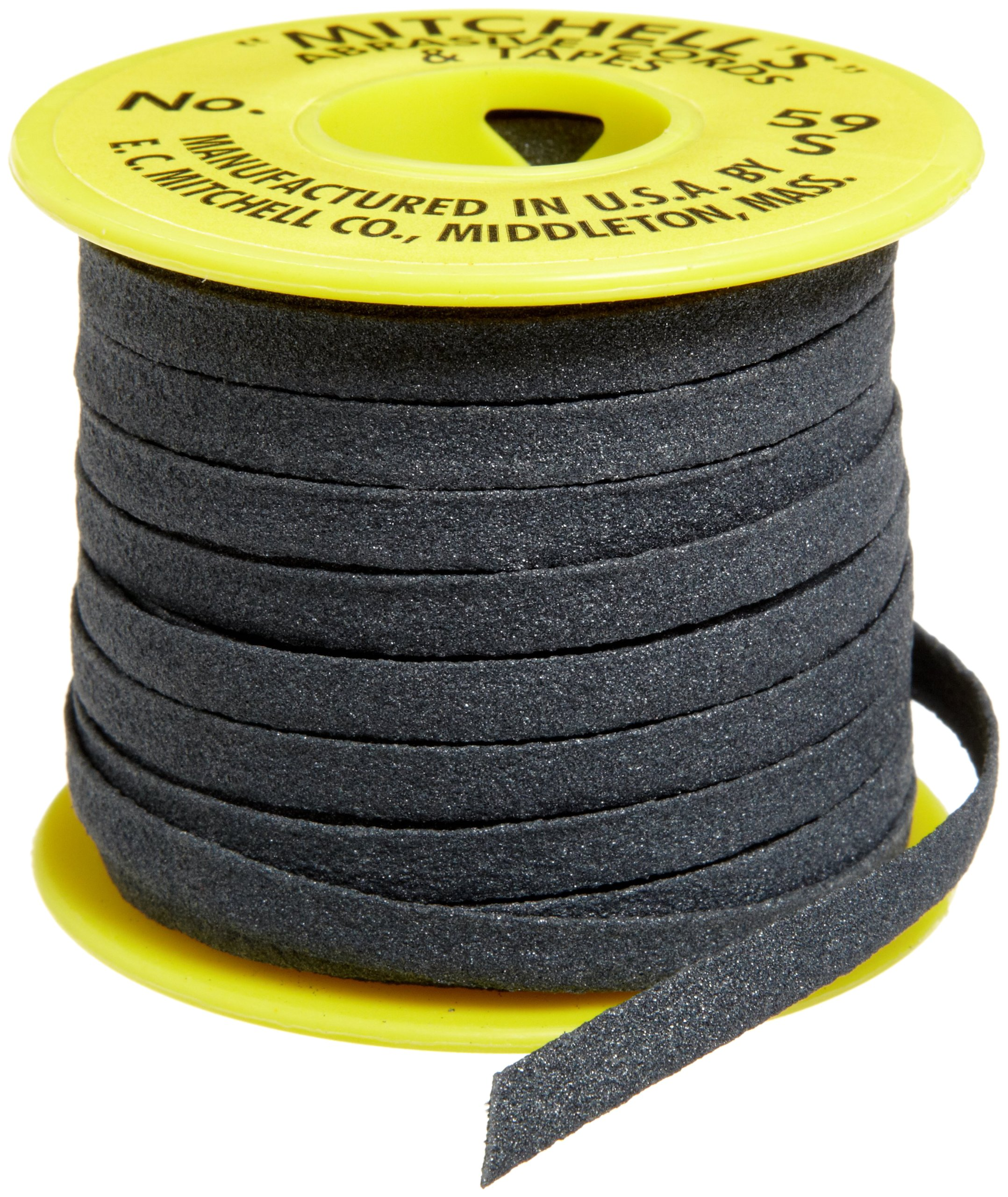 Mitchell Abrasives 59-S Flat Abrasive Tape, Silicon Carbide 150 Grit 1/4'' Wide x 25 Feet by Mitchell Abrasives