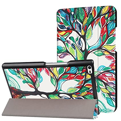 online store 2544a c2cfd IVSO Lenovo Tab 4 8 Case Slim Smart Cover Case for Lenovo Tab 4 8 8 inch  Tablet (Color 02)