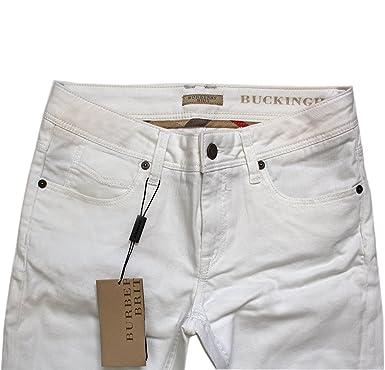 8313f18e4347 BURBERRY - Jeans - Femme Gris gris - Gris - 52  Amazon.fr  Vêtements ...