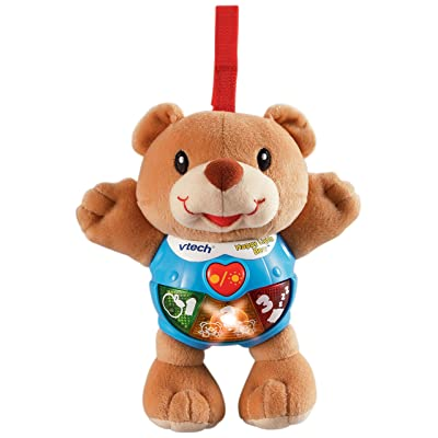 VTech Happy Lights Bear, Brown: Toys & Games