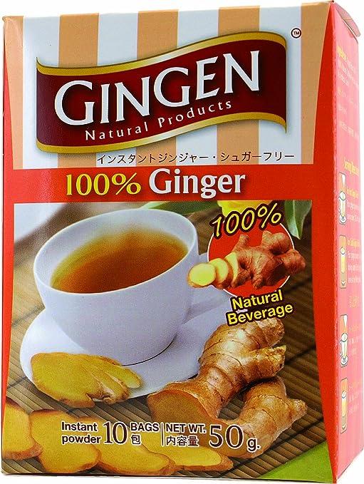 Gingen 100% Ginger Instant Tea No Sugar Added