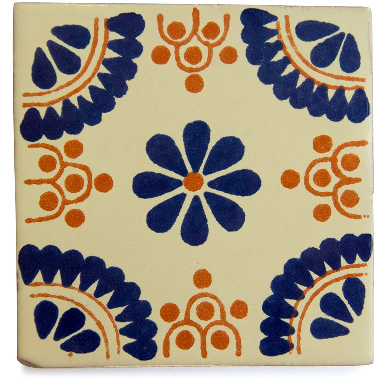 Mexican tile sleeping mexican fair trade ceramic by Tumia LAC