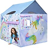 """UNICORN Play Tent Girls with Carrying Case 47"""" x 58"""" x 58"""" by Bluenido"""