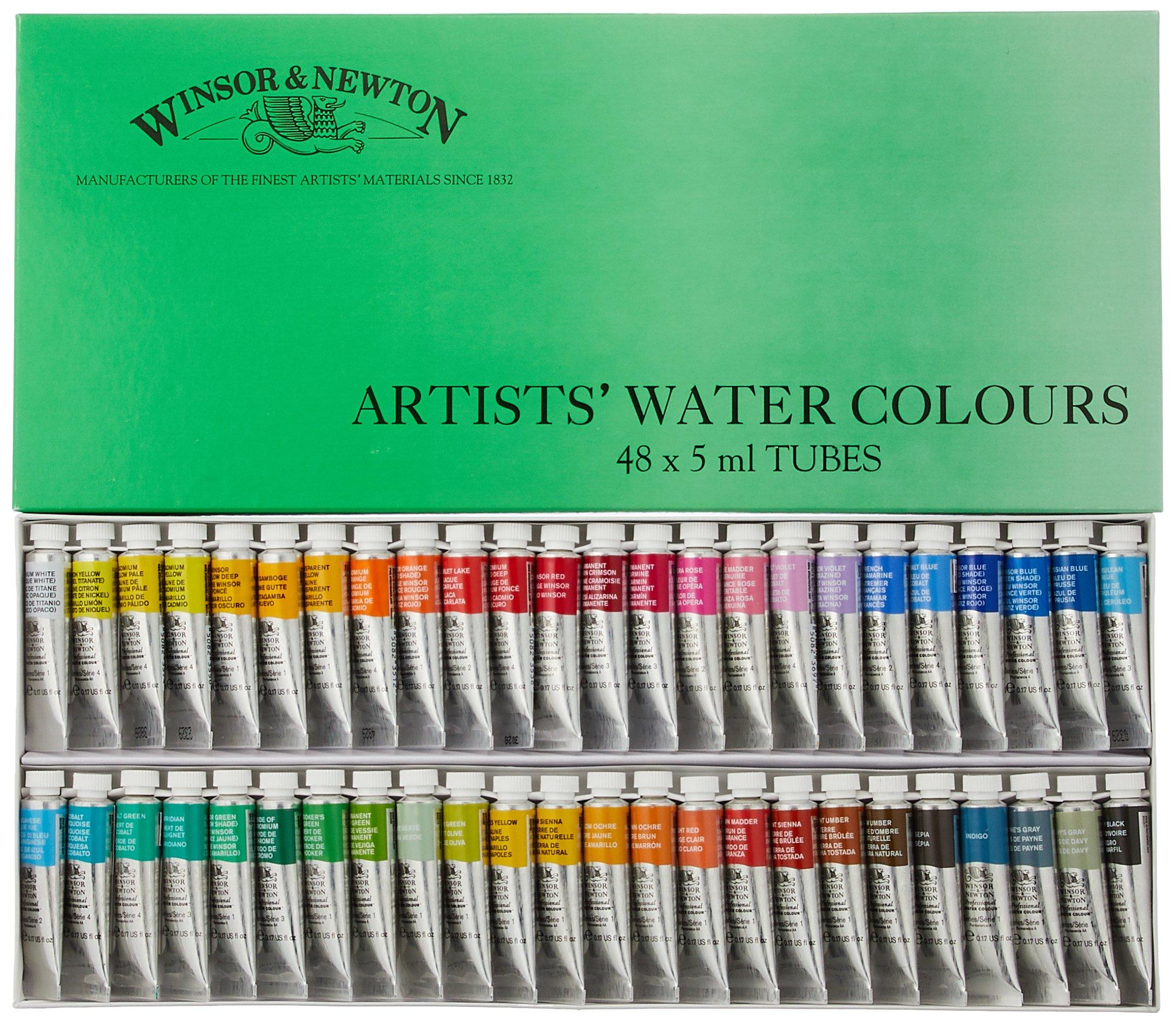 Windsor & Newton Artists Water 5ML tube 48C set (japan import) by Winsor & Newton