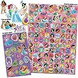 Paper Projects 9124370 Disney Princess Mega paquete de pegatinas, color rosa y morado , color/modelo surtido