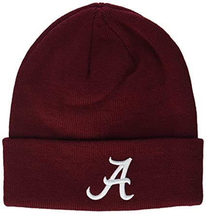 Amazon.com   ZHATS NCAA Alabama Crimson Tide Adult Men Cuff Knit ... f71b404193e4
