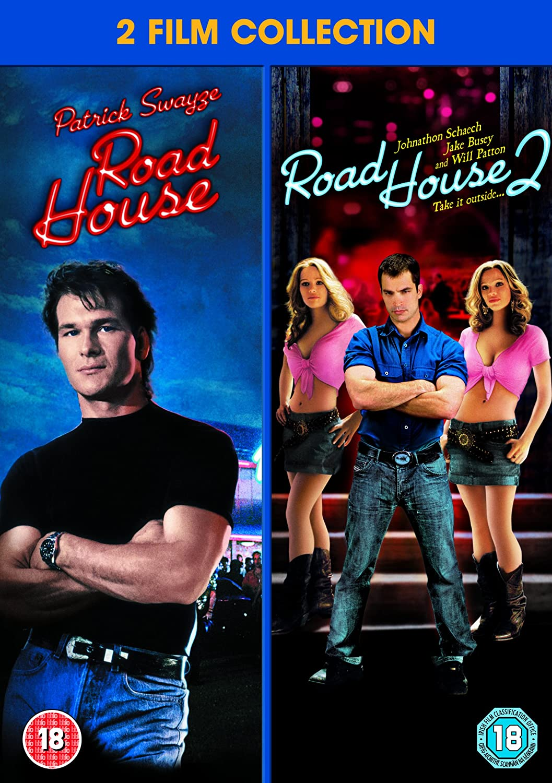 Road House / Road House 2 Double Pack [DVD] [1989]: Amazon.co.uk: Patrick  Swayze, Johnathon Schaech, Kelly Lynch, Ellen Hollman, Sam Elliott, ...