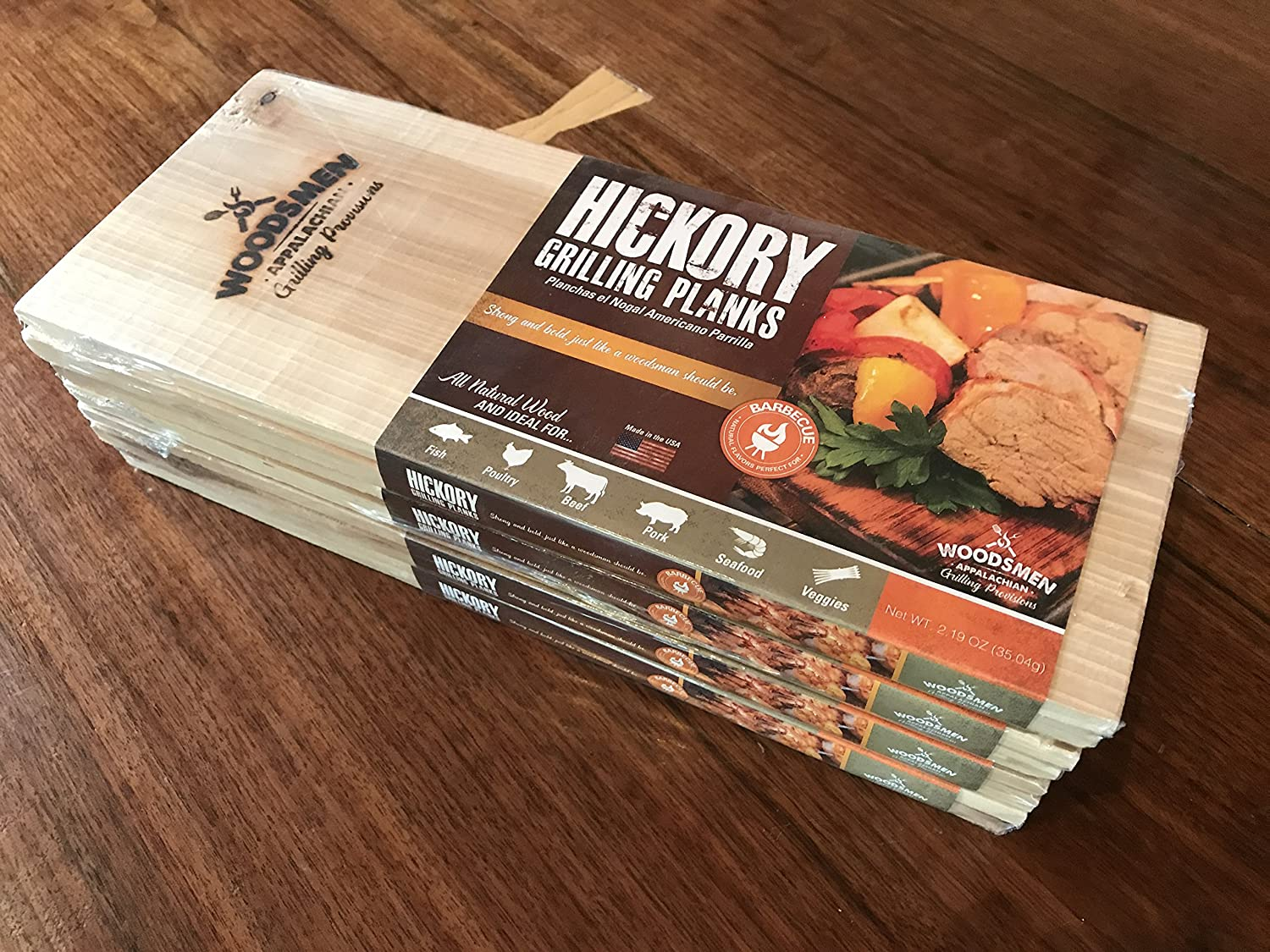 Amazon.com : Hickory Grilling Planks : Garden & Outdoor