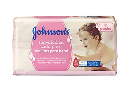 Johnsons Baby Toallitas Bebé - 2 Pack