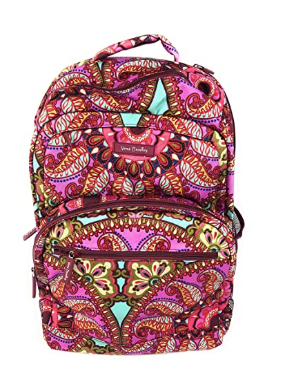 5d3175aa3fcd Amazon.com  Vera Bradley Lighten Up Essential Large Backpack Resort  Medallion  Computers   Accessories