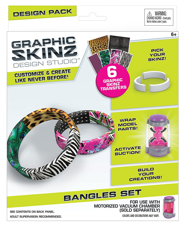 Rose Art Graphic Skinz Bangles Small Design Set